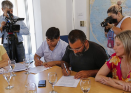 El gobierno neuquino y ATE firmaron el acuerdo para la continuidad de la actualización por IPC