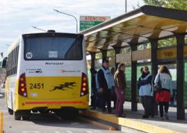 Modifican el recorrido de la línea 5A y 4 por obra