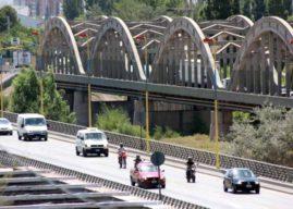 Corte de tránsito en los puentes carreteros Cipolletti-Neuquén