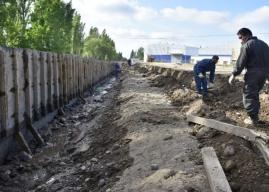 Avanza la pavimentación de Valentina Norte