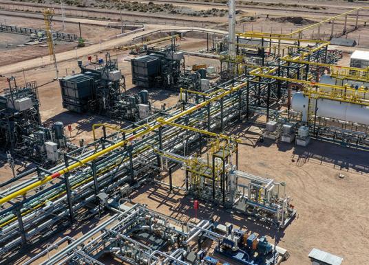 Nueva planta de procesamiento de petróleo en Neuquén